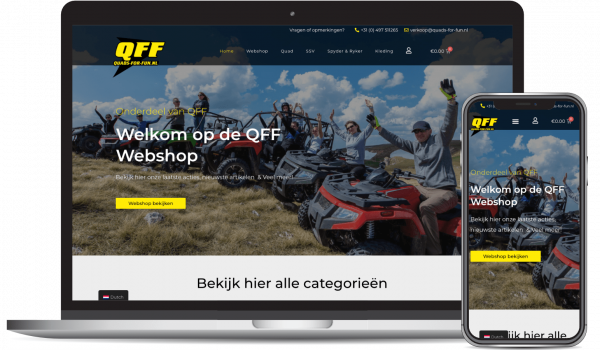 Quads-for-fun webshop